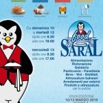 Saral Food 2019 a Pescara dal 10 al 13 marzo