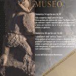 Eventi per il mese di aprile 2019 nei Musei Archeologici di Chieti 1