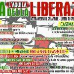 25 Aprile 2019 a L'Aquila - Festa della Liberazione