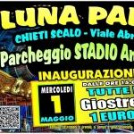 Luna Park a Chieti Scalo: giostre dal 1° al 26 maggio 2019