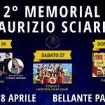 """2° Memorial """"Maurizio Sciarra"""" a Bellante dal 26 al 28 aprile 2019"""