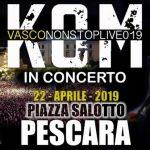 Pasquetta 2019 a Pescara con i Kom (Vasco Rossi Tribute)