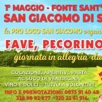 Scampagnata a San Giacomo di Scerni il Primo Maggio 2019