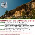 25 aprile 2019 nella Valle Giumentina con la Pro Loco San Valentino in A.C.