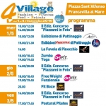4 Village 2019 a Francavilla al Mare: Fashion, Fitness, Food, Friends