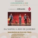 Da Napoli a Rio De Janeiro: Maurizio Di Fulvio Trio in Concerto a Chieti