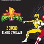 I Power Rangers al Centro D'Abruzzo il 2 giugno 2019
