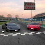 Guida Ferrari e Lamborghini al Circuito Internazionale d'Abruzzo ad Ortona il 18 Maggio 2019
