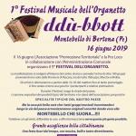 Festival dell'Organetto a Montebello di Bertona il 16 giugno 2019