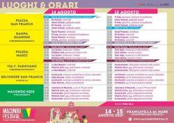 Macondo Festival a Francavilla al Mare il 14 e 15 agosto 2019