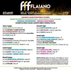 47° Premi Flaiano a Pescara - Flaiano Film Festival 1